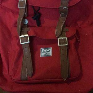 Herschel Supply Company Bags - Herschel Supply Red Retreat backpack.